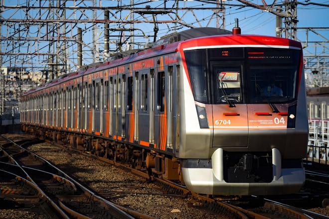 長津田検車区 系6104Fを鷺沼駅で撮影した写真