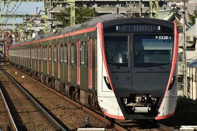 馬込車両検修場5500形5520-を京急東神奈川駅で撮影した写真