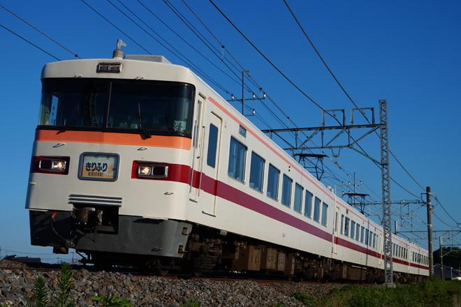 南栗橋車両管区新栃木出張所350型351Fを幸手~南栗橋間で撮影した写真