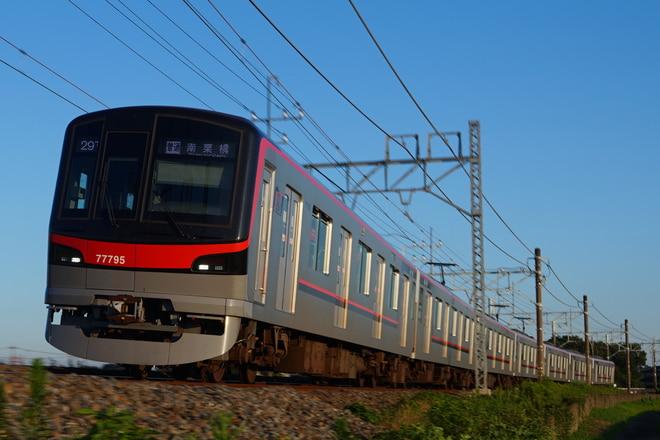 南栗橋車両管区春日部支所70090型71795Fを幸手~南栗橋間で撮影した写真
