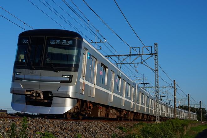 千住検車区13000系83編成を幸手~南栗橋間で撮影した写真